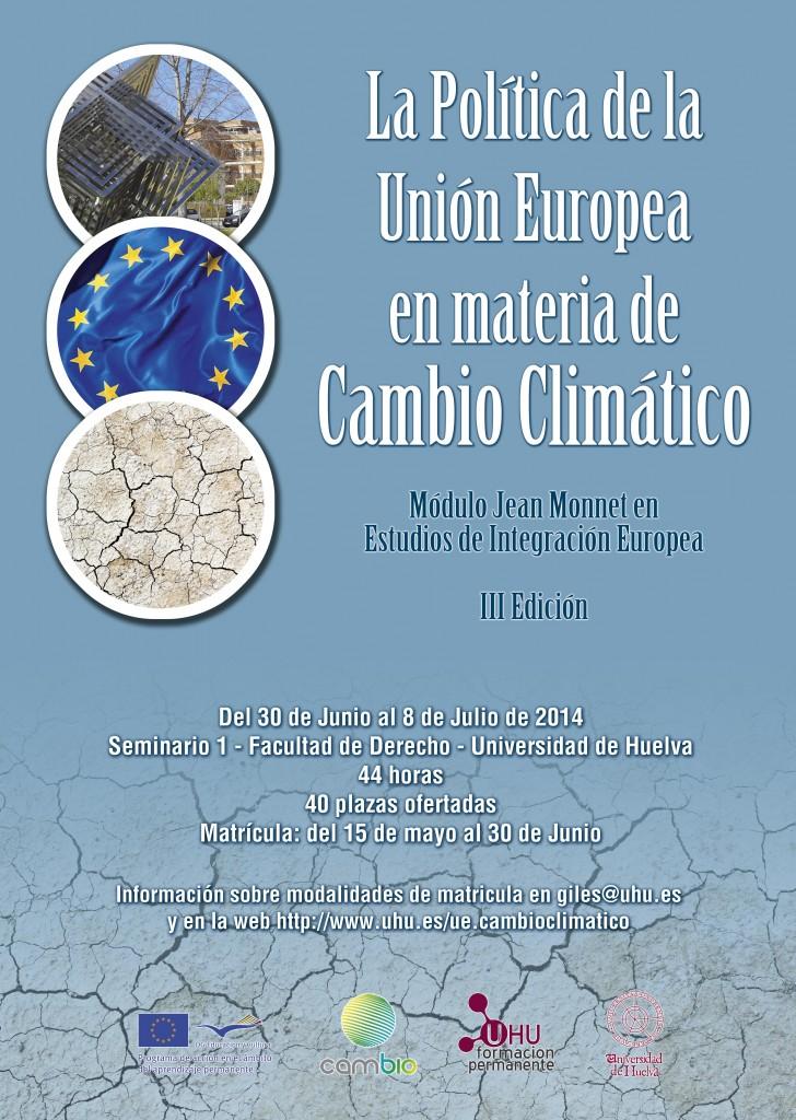 cartel cambio climatico 2014